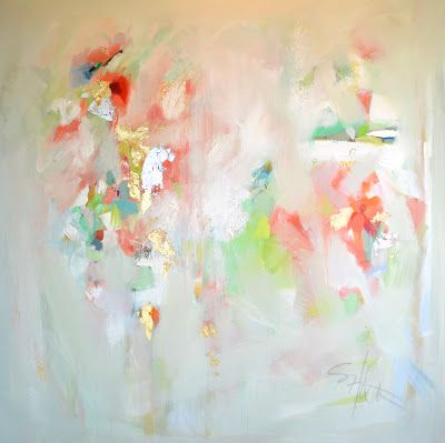 Beautiful Pastel Color Abstract Painting Abstract Art