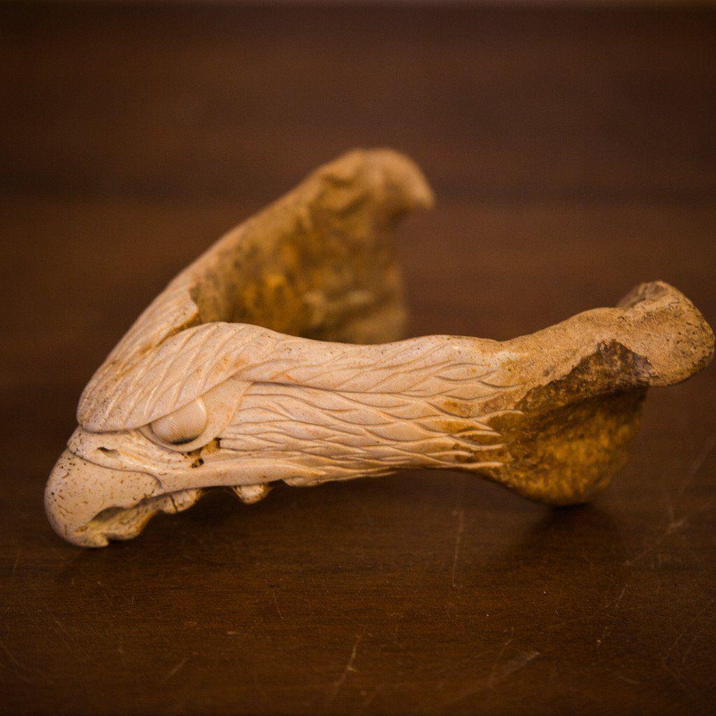 Walrus Jawbone Eagle Head Eagle Head Walrus Jaw Bone