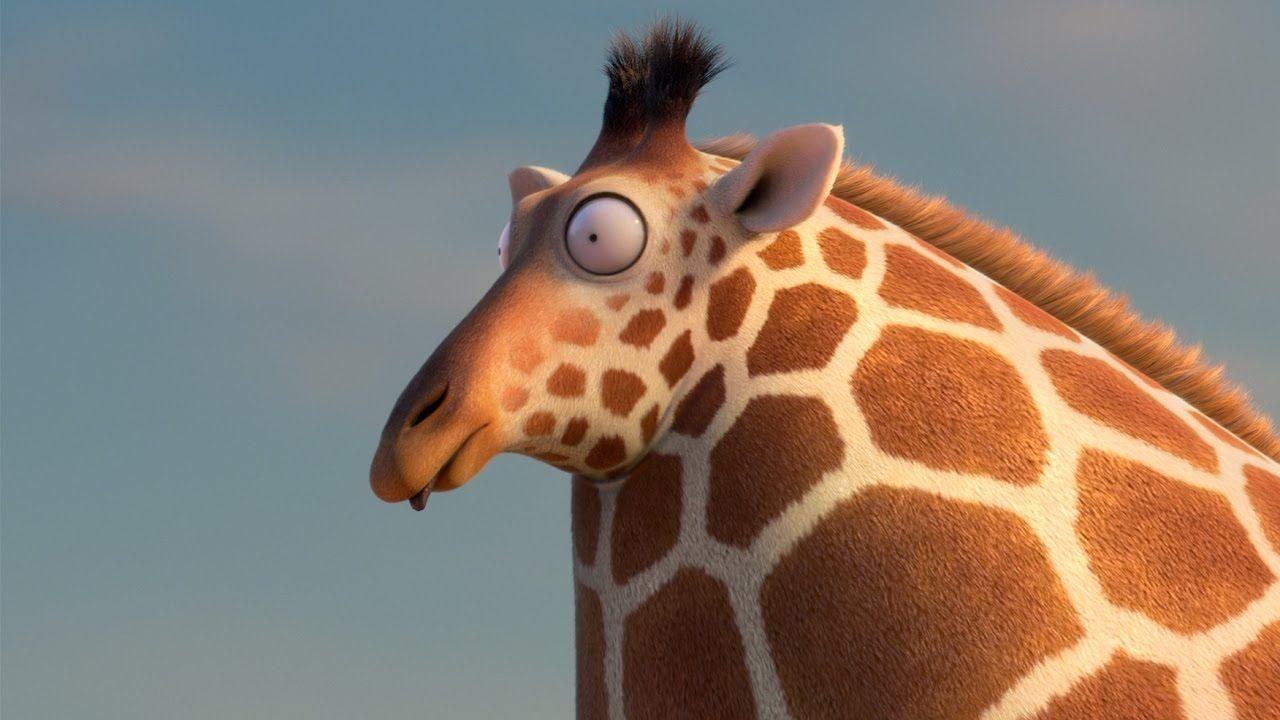 Funny giraffe cartoon meme - photo#40