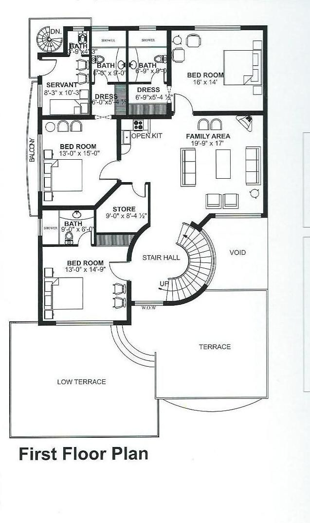Pin By Ijaz Ahmad On Ijaz Special House Layout Plans Modern Small House Design Little House Plans