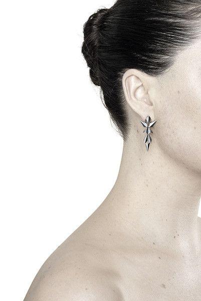 Maria Black - KOTA EARRING - OXIDIZED