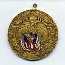 Texas Centennial Medallion