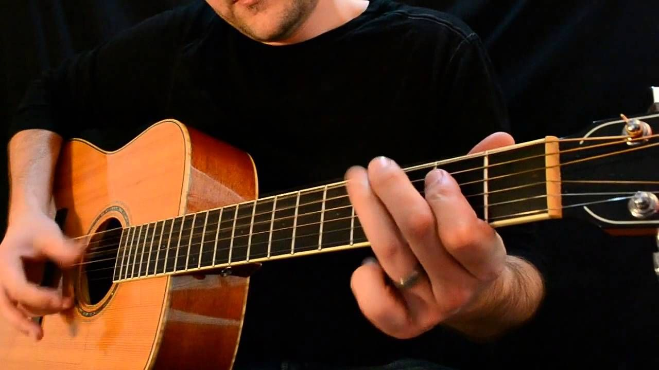 Acoustic blues lesson how to write blues licks using
