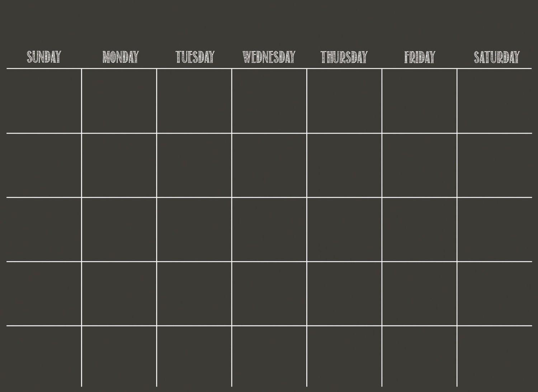 Wall Pops Black Dry Erase Calendar Decal: Amazon.com