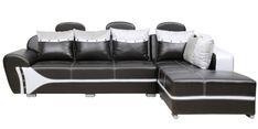 Buy Onyx LHS Sofa in Black