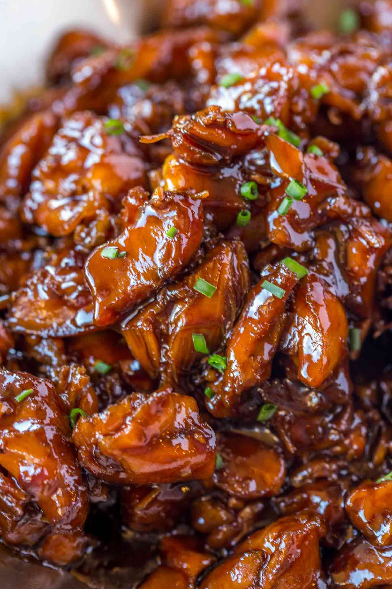 Easy bourbon chicken thats crispy sweet sticky and tastes just easy bourbon chicken thats crispy sweet sticky and tastes just like the kind you amazing food recipesyummy recipesrecipiesinternational forumfinder Choice Image