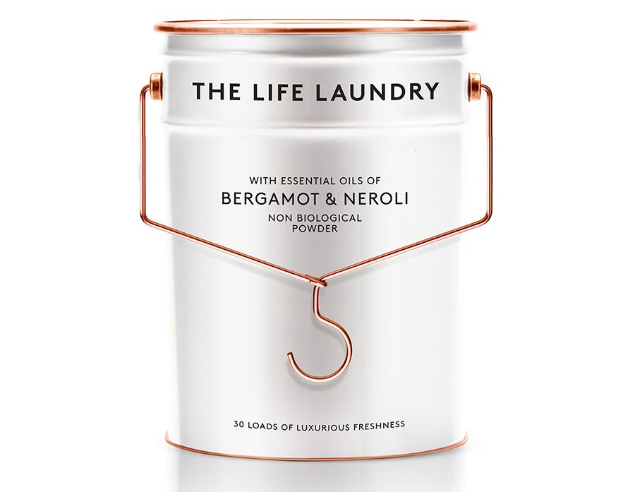 The Life Laundry Luxury Washing Detergent Creative Packaging