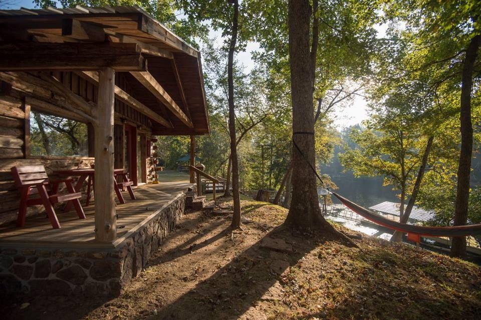 Lindseys resort heber springs secluded cabin lake