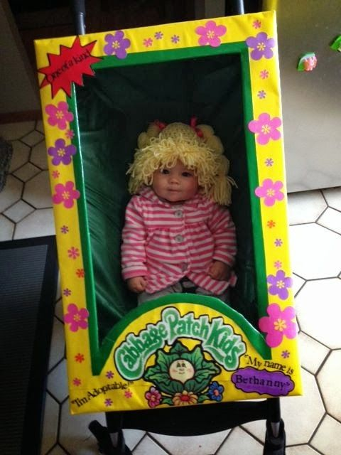 Step by step diy cabbage patch costume my crafts pinterest cabbage patch costume cabbage for Cabbage patch costumes