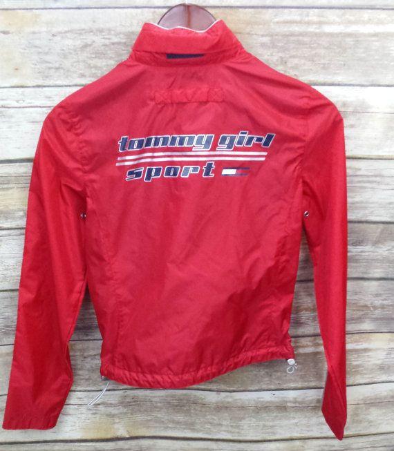 Vintage Tommy Hilfiger Tommy Girl Sport Red by VintageNThrowbacks