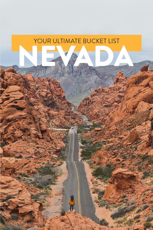101 Things to Do in Nevada State - The Ultimate Nevada Bucket List // Local Adventurer #nevada #localadventurer #travelnevada #usa #visittheusa #nevadastate