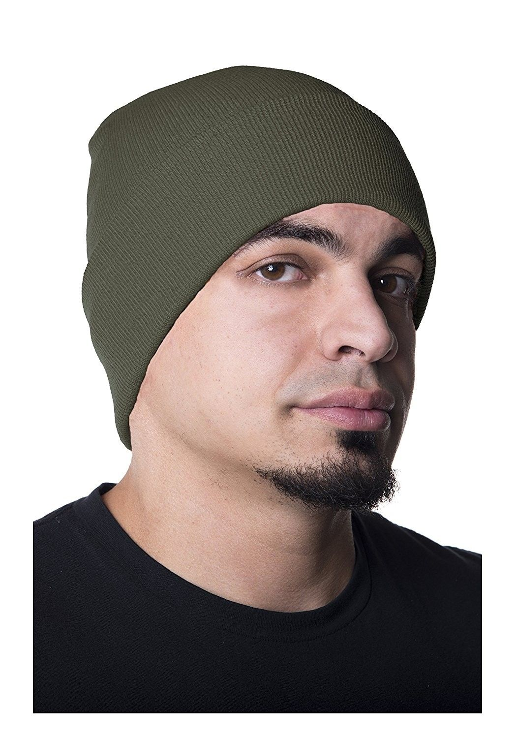 a9e6ec7820e Beanie · Men Hats · 100% Fine Wool Watch Cap - Olive Drab - C912NUV5YD9 -  Hats  amp  Caps