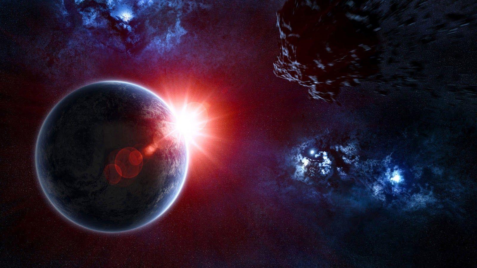 D Solar Eclipse HD desktop wallpaper High Definition
