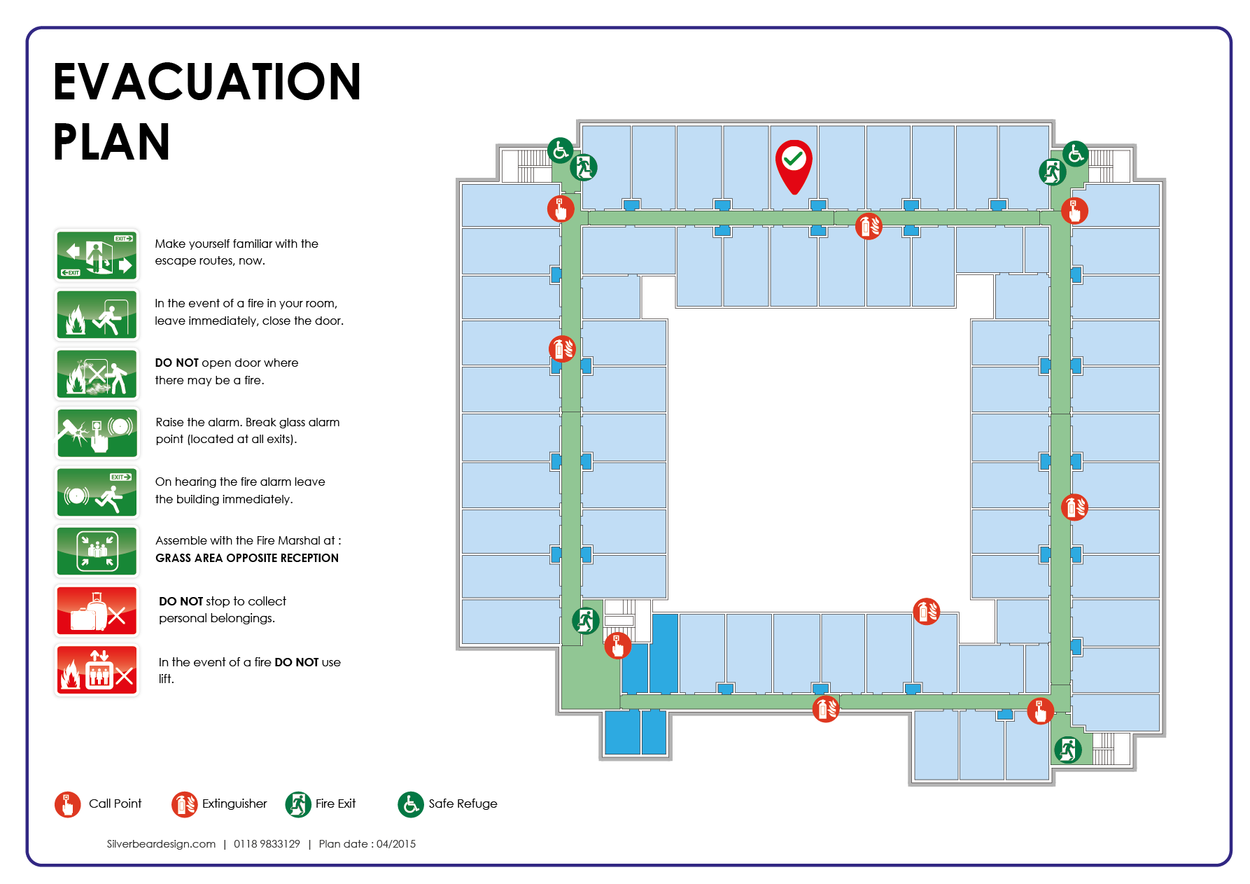 Hotel Escape Plan  Fire Evacuation Plans    Evacuation