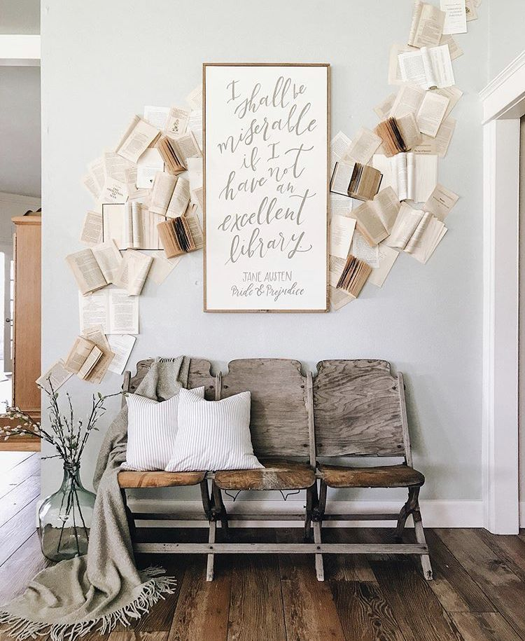 Pin by Lauren Willis on home in 2020 Decor, Book wall