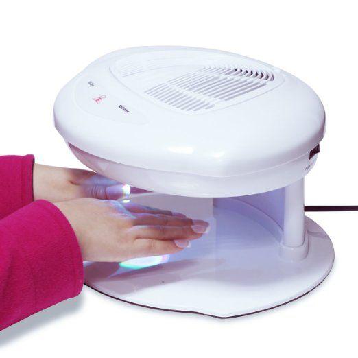 Makartt Professional Salon Nail Dryer Machine Both Hands Automatic Sensor Warm Cool Breeze Air Fan