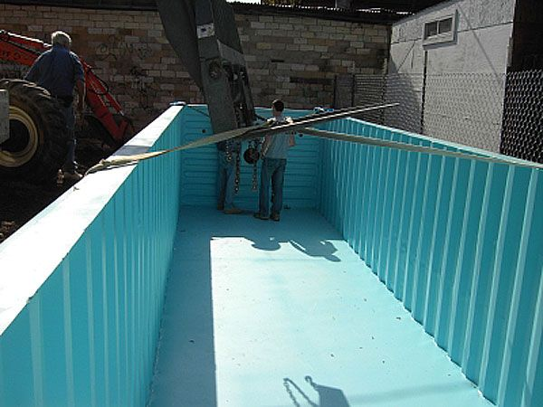 shipping container swimming pool project 1 shipping container home plans how to plan. Black Bedroom Furniture Sets. Home Design Ideas