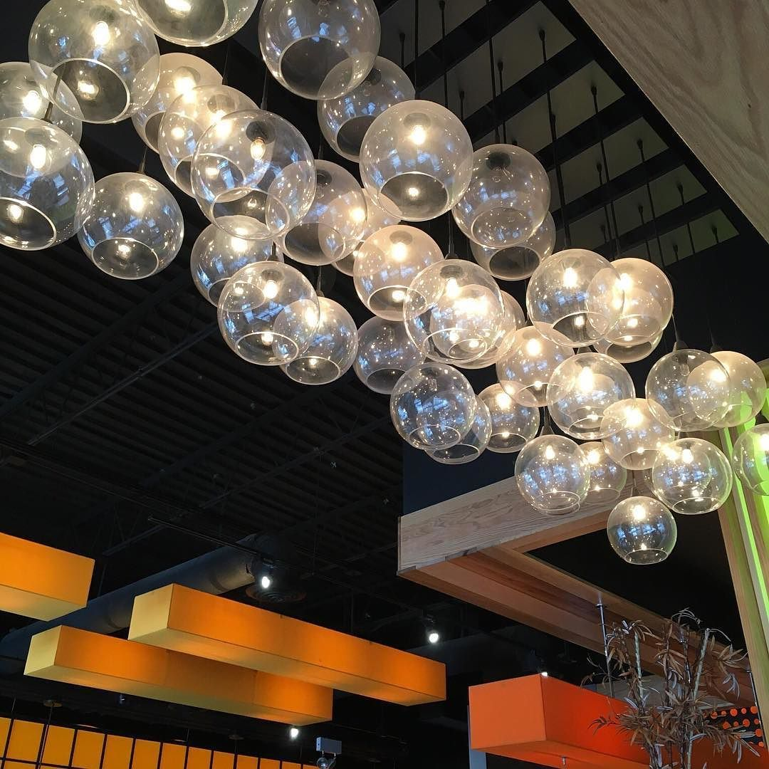 Firefly Pendant Lamp 9 Bulb Firefly Pendant Lamp 5 Bulb Restaurantdesign  Lightingdesign Lighting Cb2