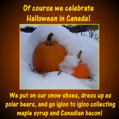 Pin by Deena Cope on Happy Halloween Canada funny