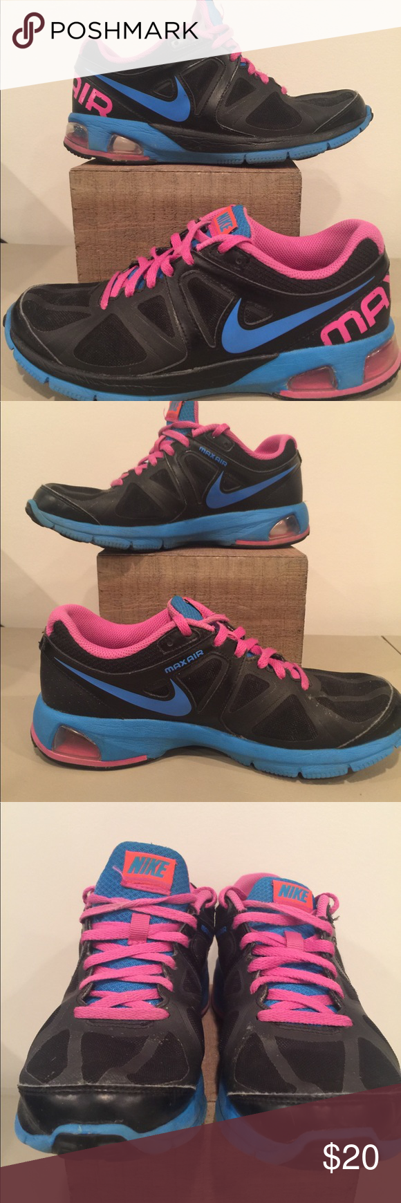 san francisco acea2 2c5ff Nike Air Max Run Lite 4 Womens Running Shoes Preowned but not abused. No  holes, no rips. No box. Item shown is the item you will receive.