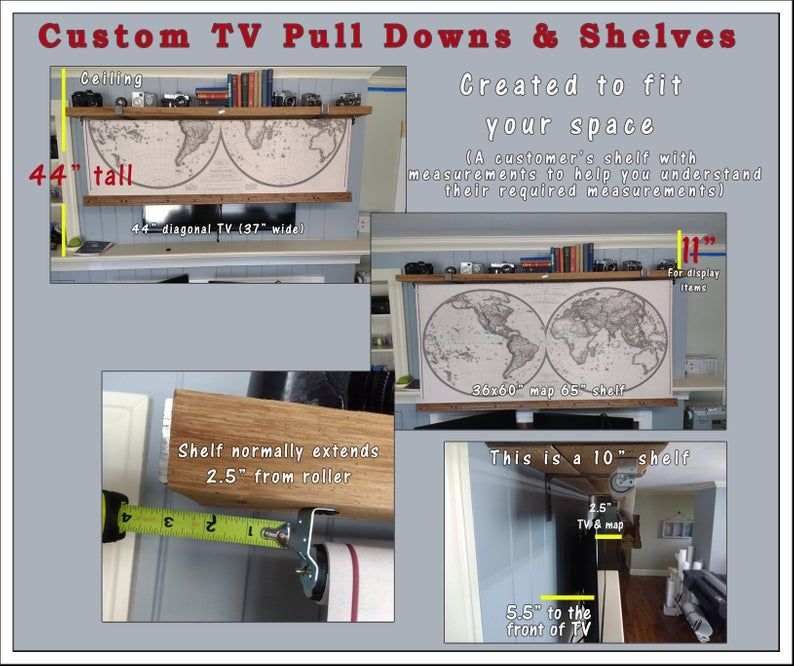 How to MEASURE your TV Cover #howtodisguiseyourself