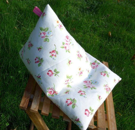 Ipad beanbag cushion, tablet stand, handmade, E reader, gift, Samsung tablet