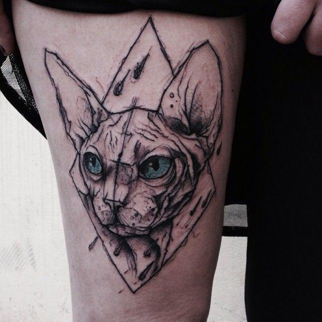 Cat Kot Mokot Katze Tattoo Ink Inked Berlin Berlintattoo
