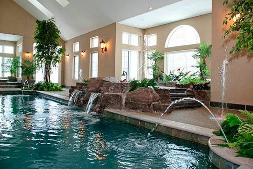 Home with indoor pool INDOOR SWIMMING POOLS Pinterest Indoor