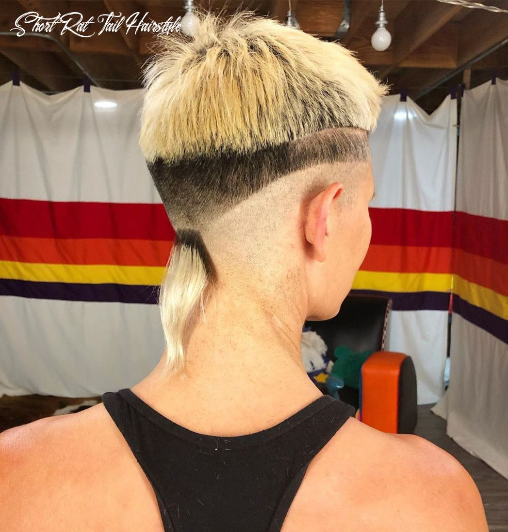 9 Short Rat Tail Hairstyle