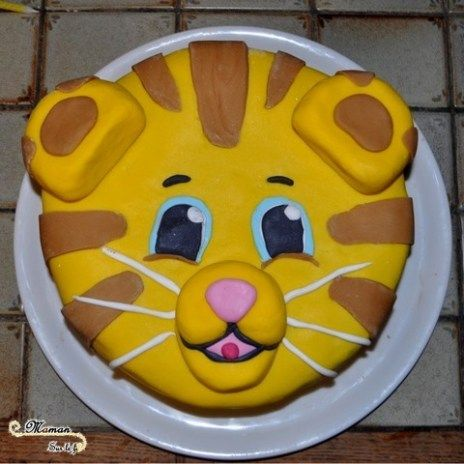 2 4 ans bidouboy en famille gateau pate a sucre dany le tigre gateau anniversaire garcon fille 2. Black Bedroom Furniture Sets. Home Design Ideas