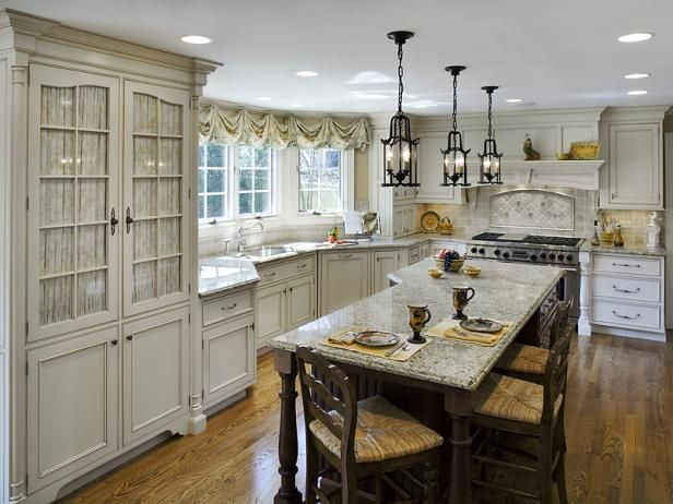 French Country Kitchens Mediterranean kitchen, French country