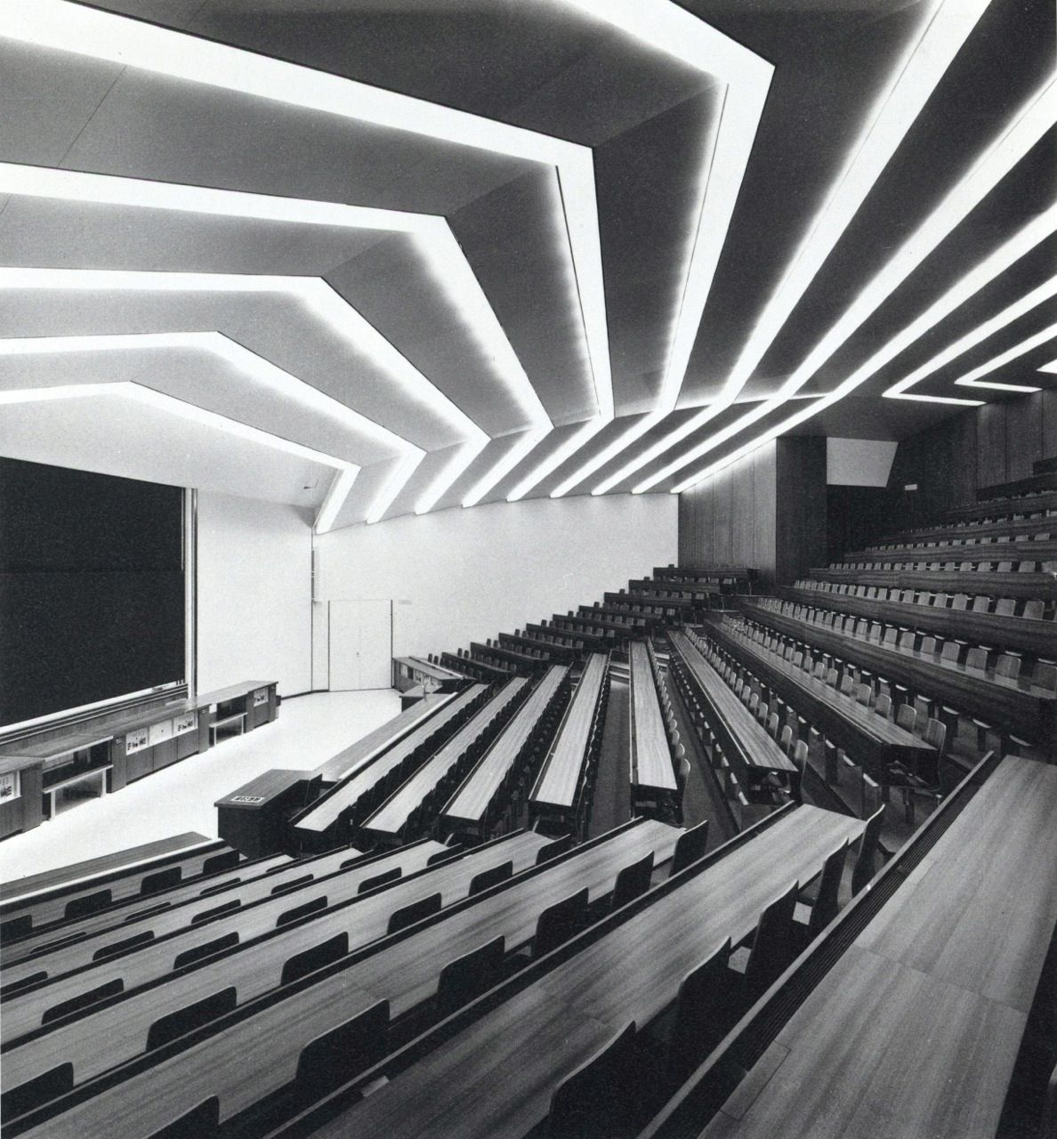 Rudygodinez Unknown Architect University Lecture Hall Designed Experiments Department Of