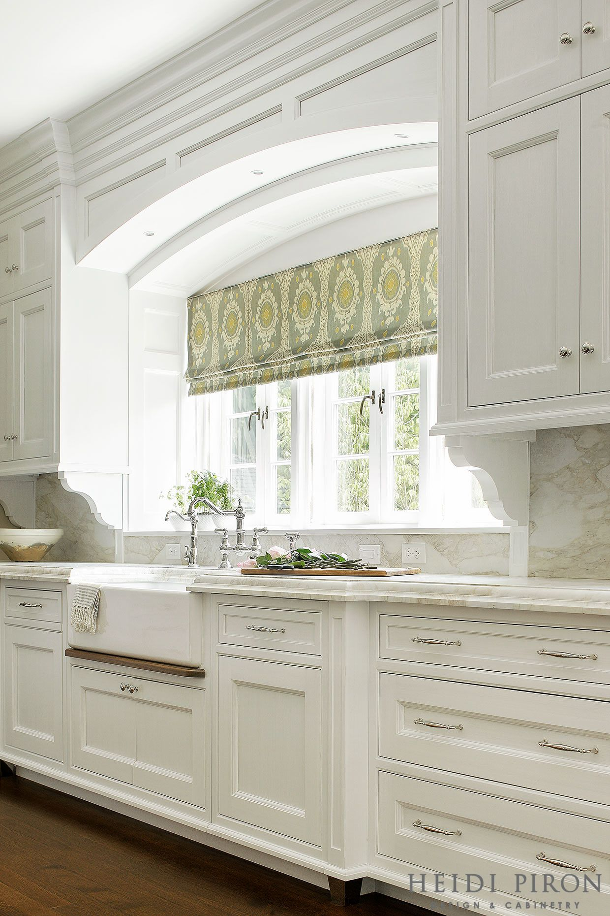 Window kitchen cabinets  awardwinning kitchen designer heidi piron creates handcrafted