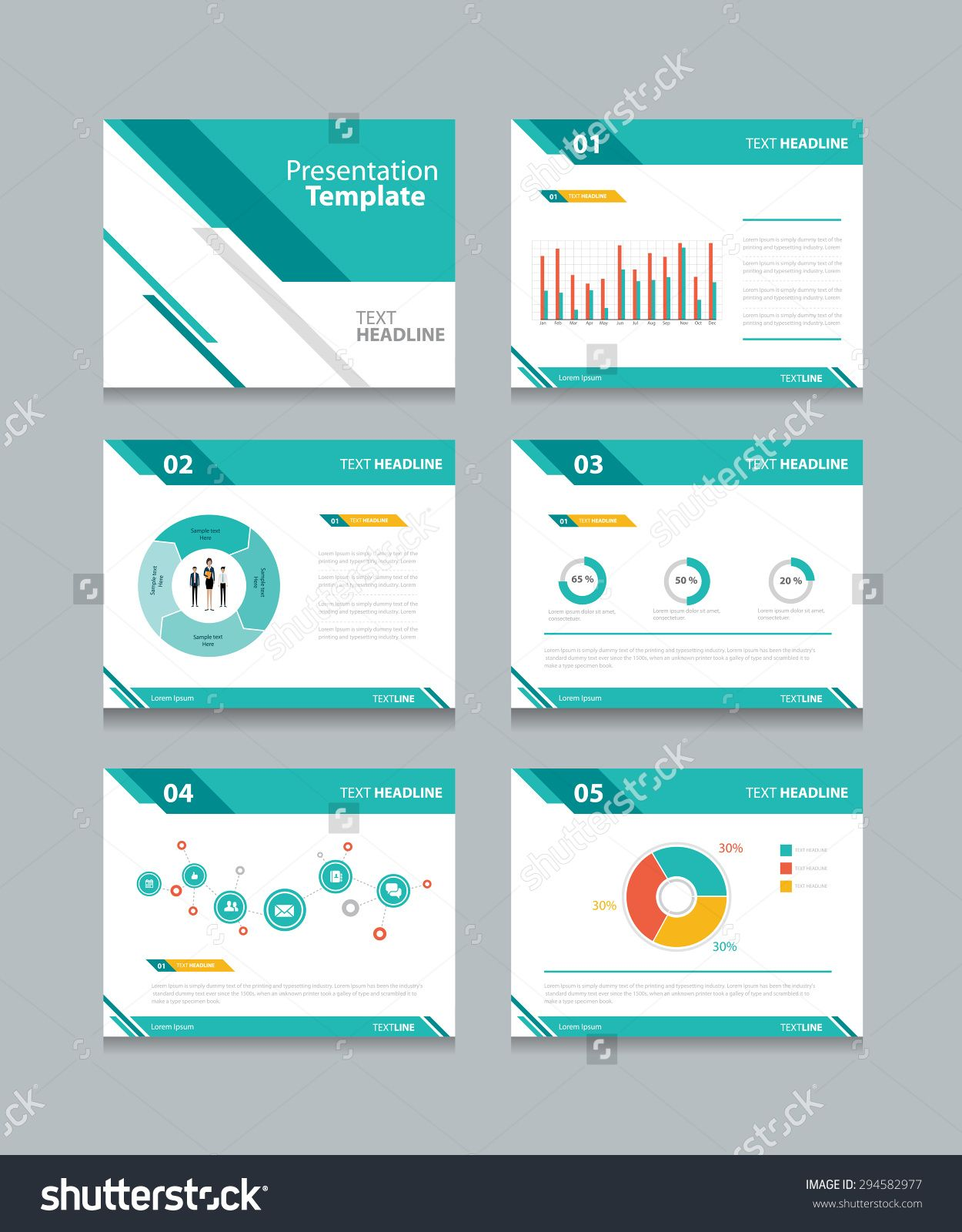 Powerpoint templates for business presentations selowithjo business presentation template set powerpoint template design cheaphphosting Choice Image
