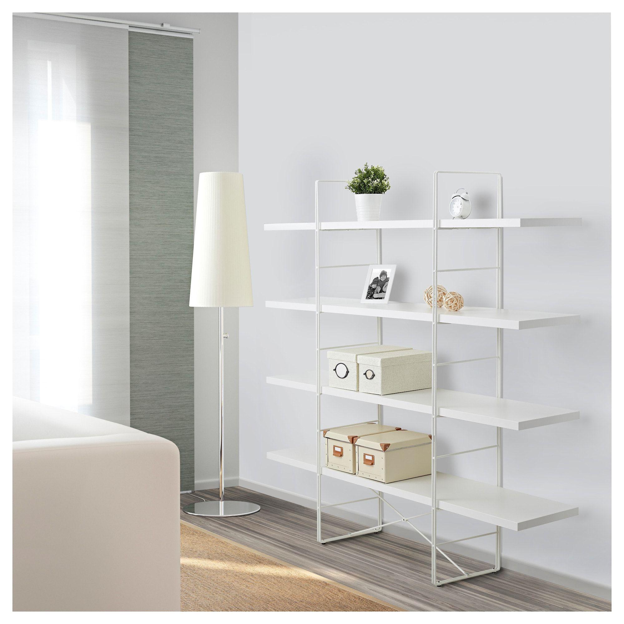 Enetri Shelf Unit White Ikea Ikea White Shelves White