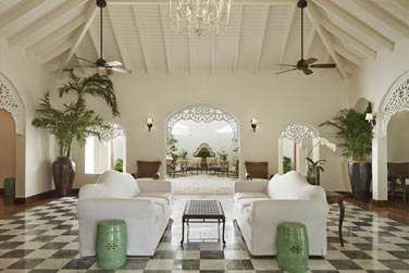 Ancienne plantation sucrière,le resort a conservé une architecture coloniale