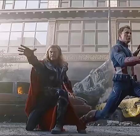 Thor ain't worthy yet ( Damn this slippery hammer