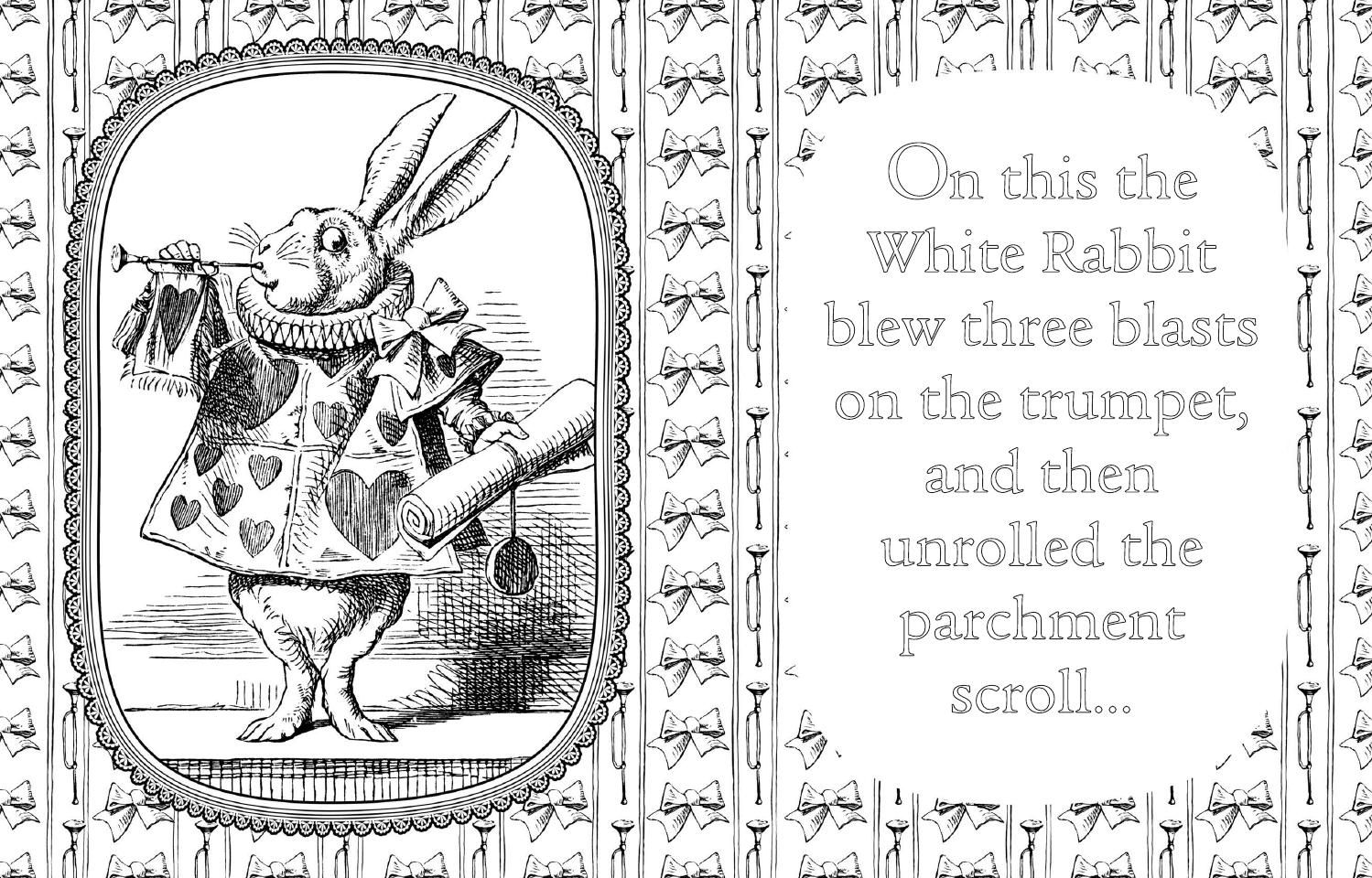 Pin On Coloring Pages To Print Alice In Wonderland