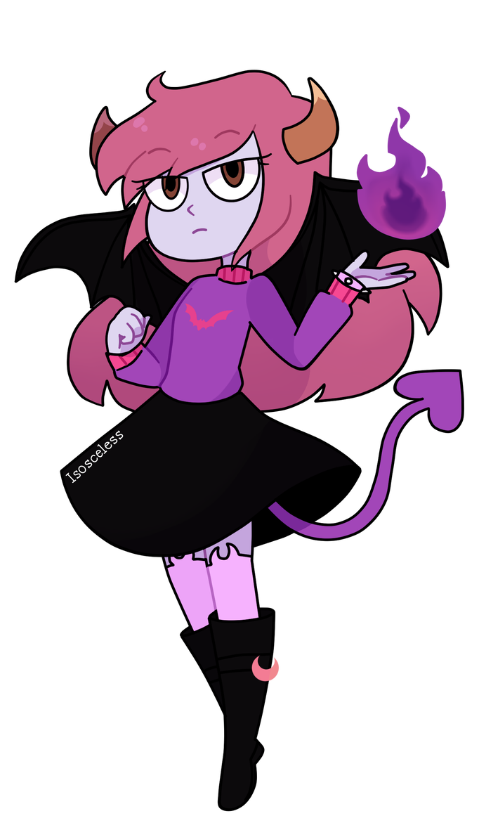 Demon Commission By Isosceless Anime Character Drawing Cartoon Styles Star Vs The Forces Of Evil