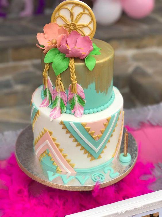 21151225 10155547435973548 215659601220724605 N Jpg 720 960 Boho Cake Bohemian Cake 13 Birthday Cake