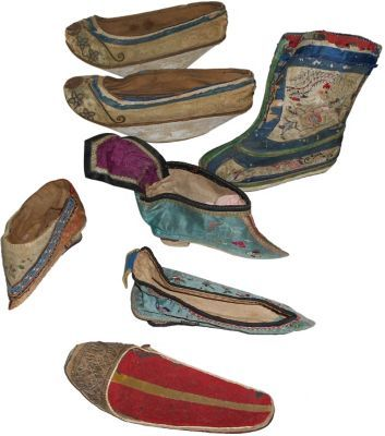 Antique Chinese Shoes What They Did To