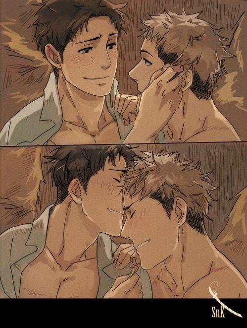 5/5 Marco x Jean shingeki no kyojin not sure what hapend to