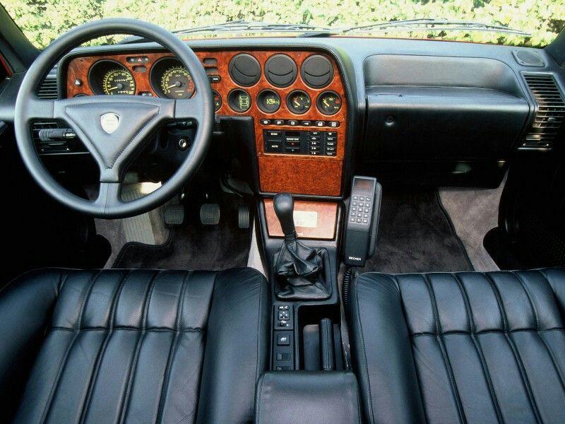 Lancia Thema 8.32 interior | Lancia Thema | Pinterest | Garage und Gold