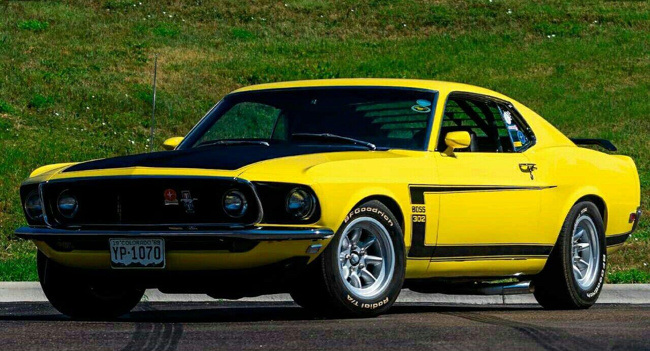 1969 Ford Mustang Boss 302 Mustangs Pinterest