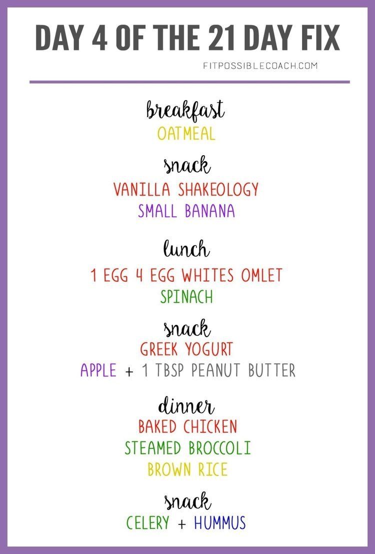 Pin by Tina Robinson on Healthy food in 2020 21 day fix