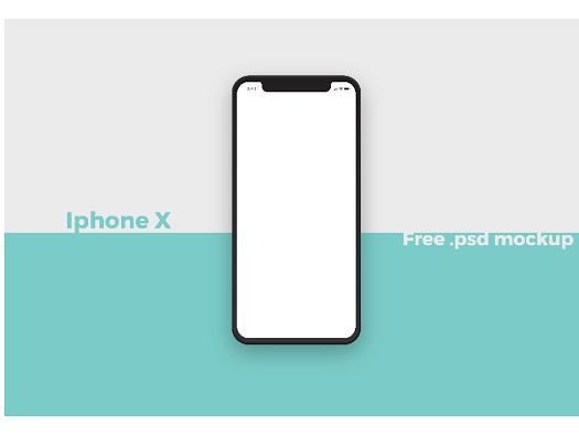 Free Iphone X Psd Mockup Google Drive Seni