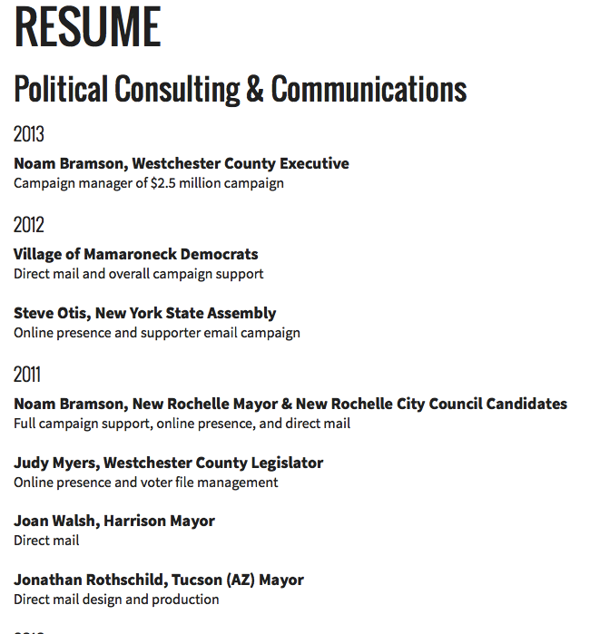Resume Political Consulting Http Resumesdesign Com Resume Political Consulting