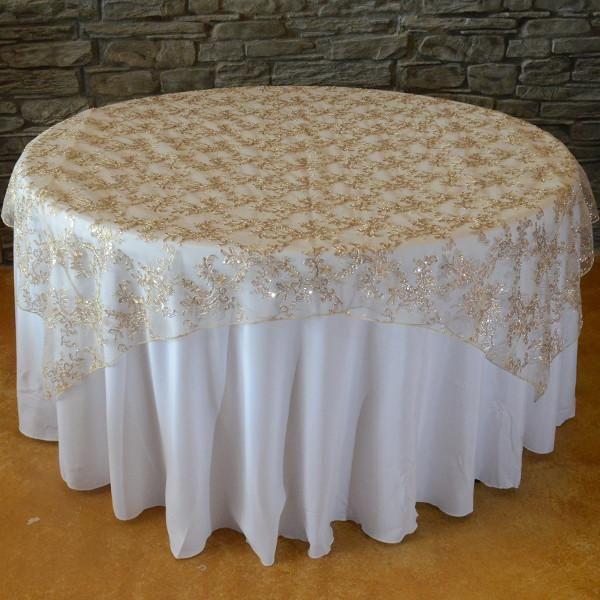 Cream Colorado Tablecloth - The Tablecloth Hiring Company