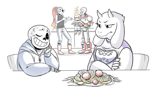 Goat Mom does not approve of your babysitting skills Undertale - babysitting skills
