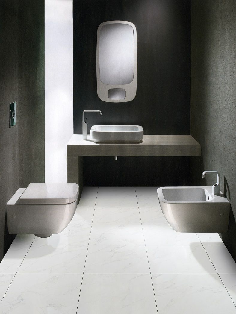 this bathroom features tiles from beaumont tiles for more stylish
